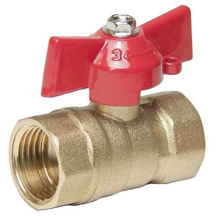 Кран шаровой Оптима SOFFB012 1/2 дюйма для воды