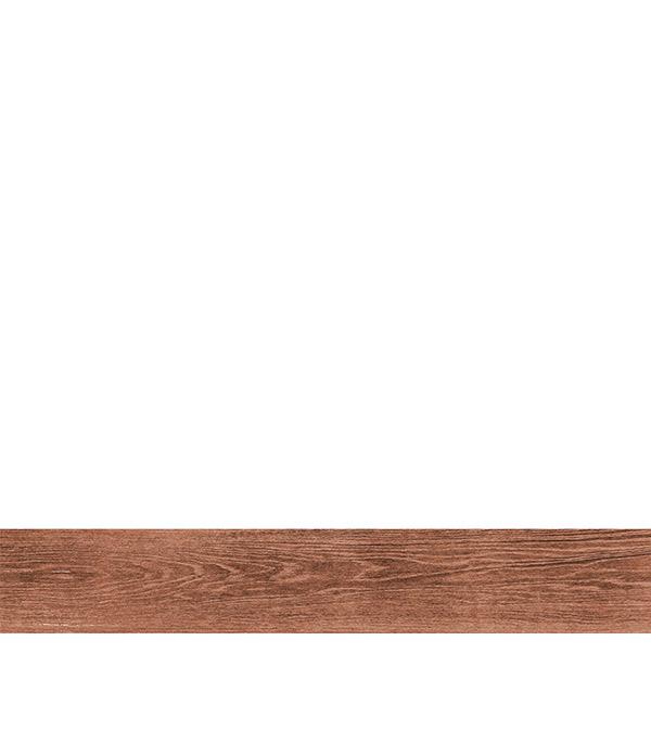 Керамогранит Керамика будущего Granite Wood classic темно-коричневый 195х1200х10.5 мм 7 шт 1.638 м2.