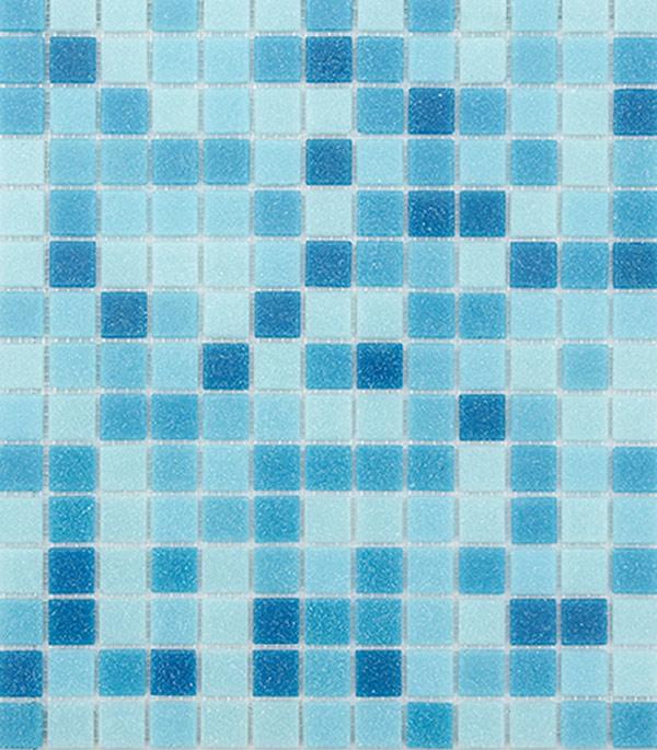 Мозаика Lavelly Lazure/Лазурь из стекломассы 327х327х4 мм матовая (20 шт = 2,139 кв.м) фото