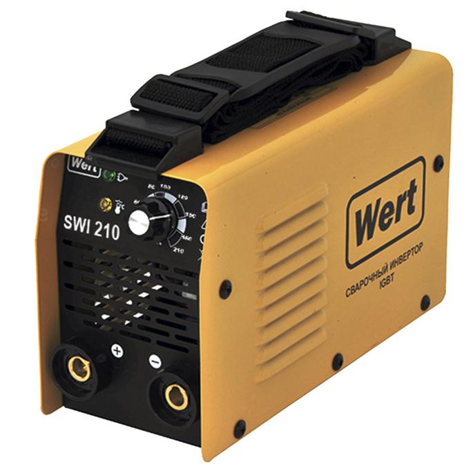 Сварочный аппарат инверторного типа Wert SWI 210 MMA фото