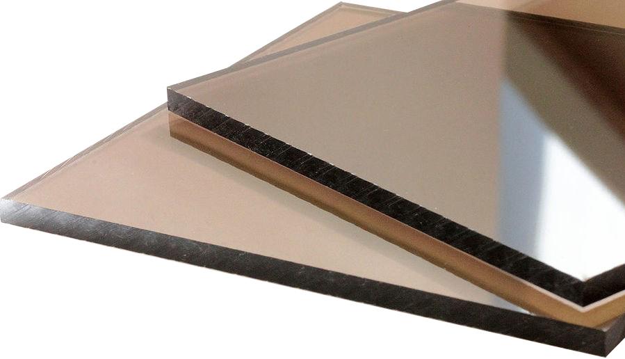 Borrex 2050х3050 мм, 3 мм, Поликарбонат монолитный бронза фото