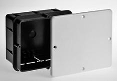 Коробка разветвительная UVinil 130х106 мм 50 шт скрытая усиленная с крышкой.
