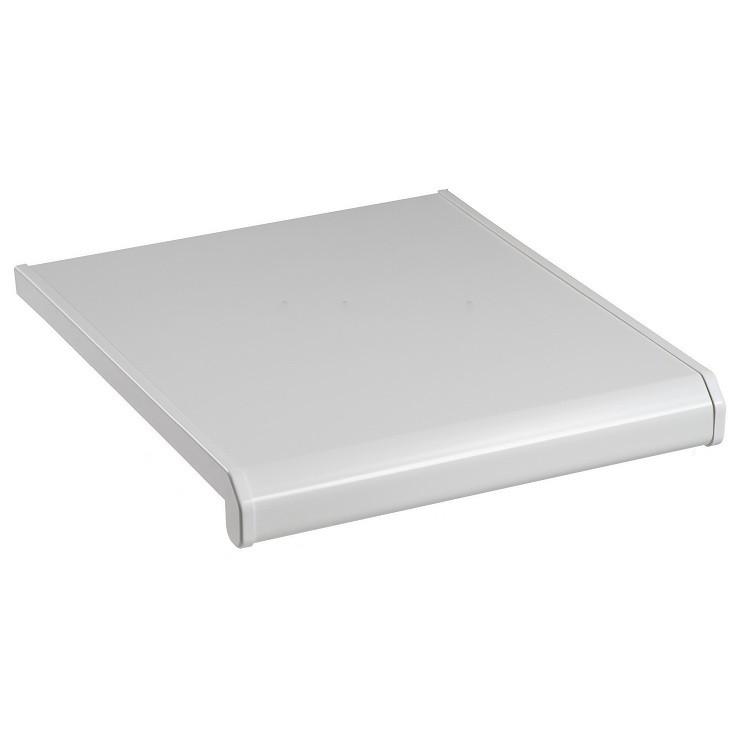 Подоконник ПВХ Danke Standard Satin Bianco матовый 100 мм резка фото