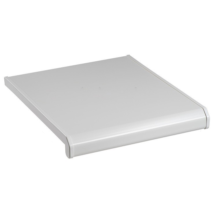 Подоконник ПВХ Danke Standard Satin Bianco матовый 600 мм резка фото