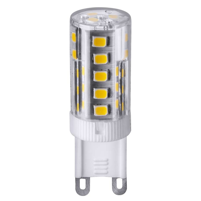 Лампа светодиодная Navigator 3 Вт G9 3000 К капсула теплый свет 230 В фото