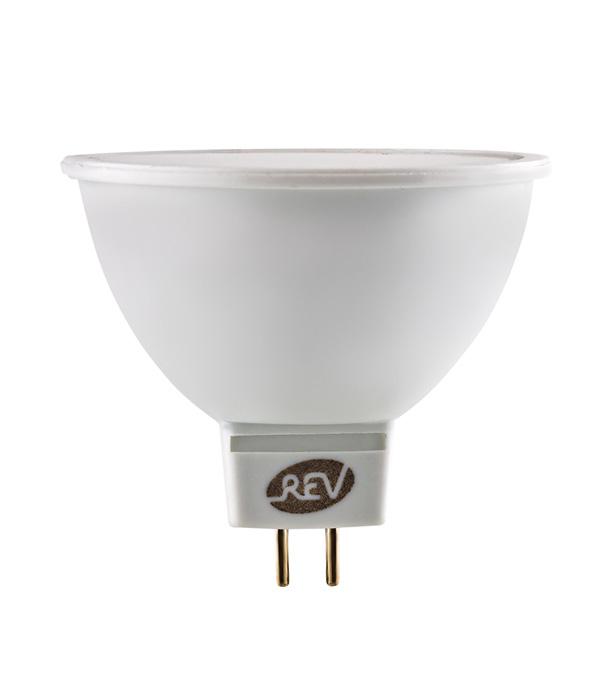 Лампа светодиодная REV 3 Вт GU5.3 рефлектор MR16 3000 К теплый свет 12 В фото