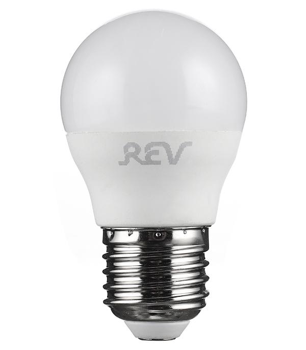 Лампа светодиодная REV 9 Вт Е27 шар G45 4000 К дневной свет 230 В фото