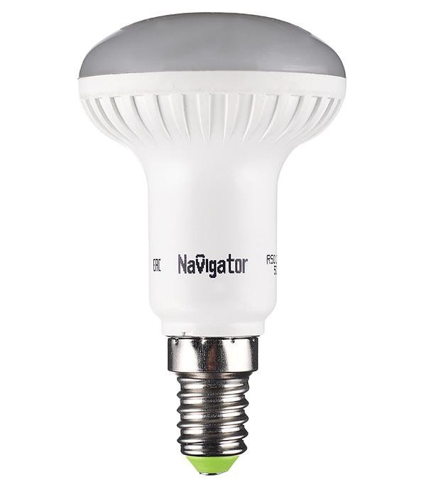Лампа светодиодная Navigator 5 Вт Е14 рефлектор R50 2700 К теплый свет 230 В матовая фото