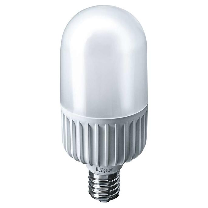 Лампа светодиодная Navigator 45 Вт E40 цилиндр T105 4000 К дневной свет 230 В фото