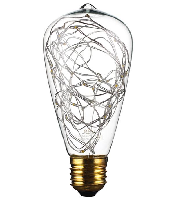 Лампа светодиодная REV VINTAGE 2 Вт Е27 колба ST64 2700 К теплый свет 230 В декоративная фото