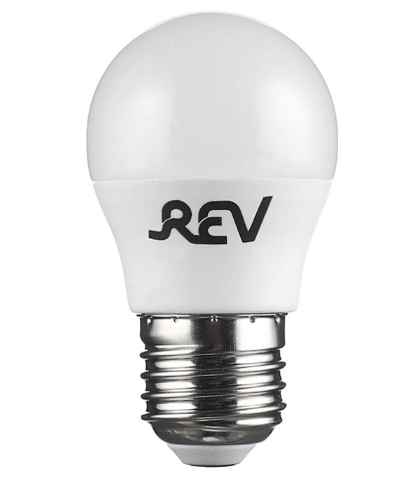 Лампа светодиодная REV 5 Вт Е27 шар G45 2700 К теплый свет 230 В фото