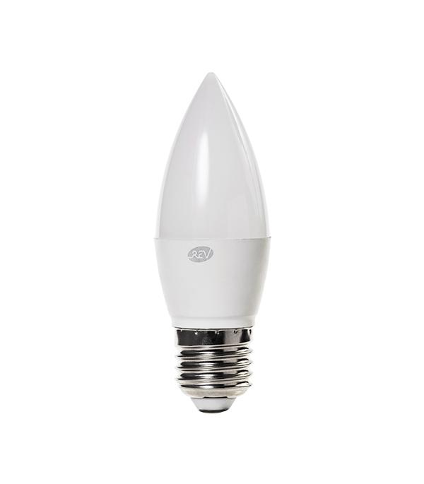 Лампа светодиодная REV 5 Вт Е27 свеча С37 4000 К дневной свет 230 В фото