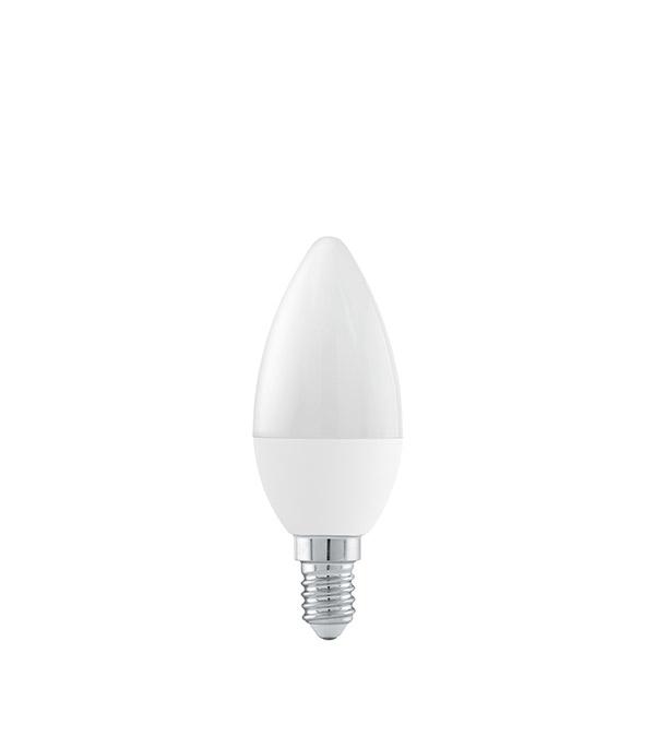 Лампа светодиодная Онлайт 6 Вт Е14 свеча С37 4000 К дневной свет 230 В матовая
