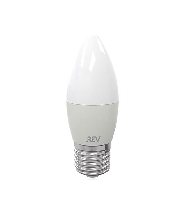 Лампа светодиодная REV 7 Вт Е27 свеча С37 4000 К дневной свет 230 В фото