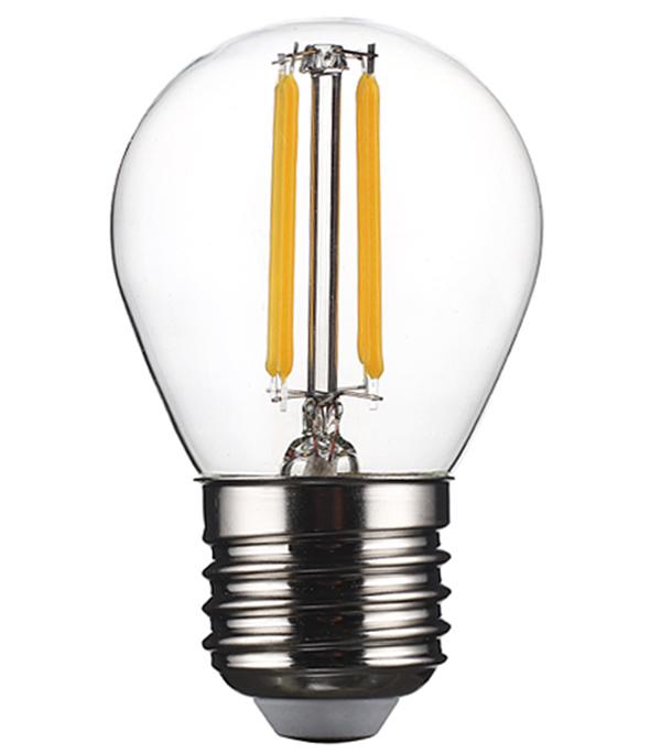 Лампа светодиодная REV 7 Вт Е27 филаментная шар G45 2700 К теплый свет 230 В фото