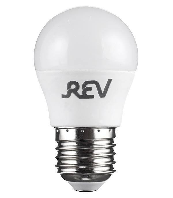Лампа светодиодная REV 7 Вт Е27 шар G45 2700 К теплый свет 230 В фото