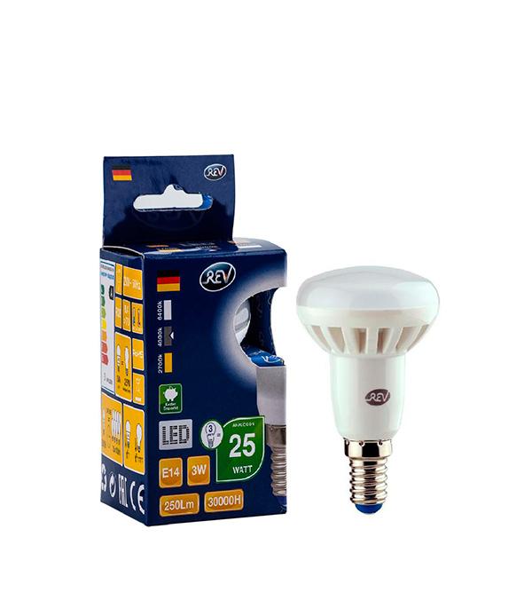 Лампа светодиодная REV 3 Вт Е14 рефлектор R39 4000 К дневной свет 230 В матовая фото