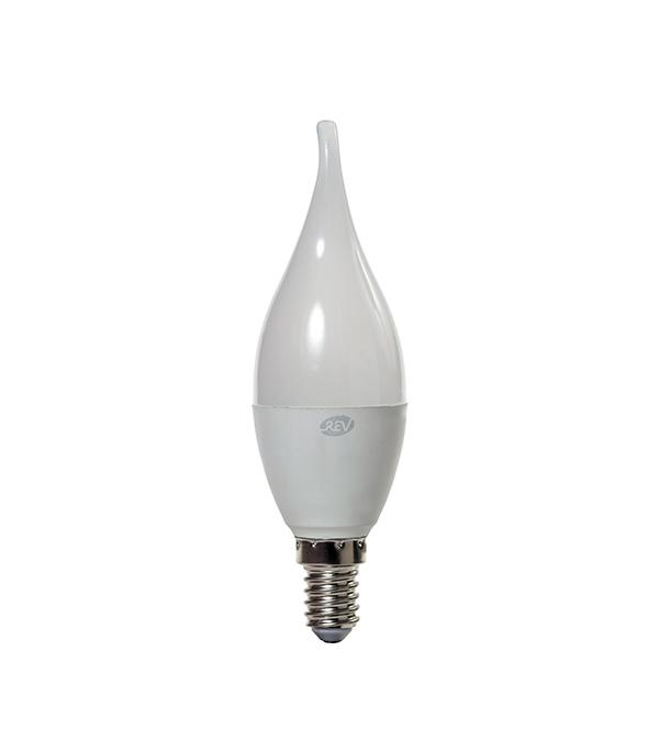 Лампа светодиодная REV 9 Вт E14 свеча на ветру FC37 2700 К теплый свет 230 В матовая фото