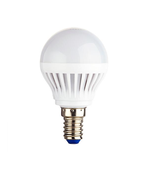 Лампа светодиодная REV 7 Вт Е14 шар G45 2700 К теплый свет 230 В матовая фото