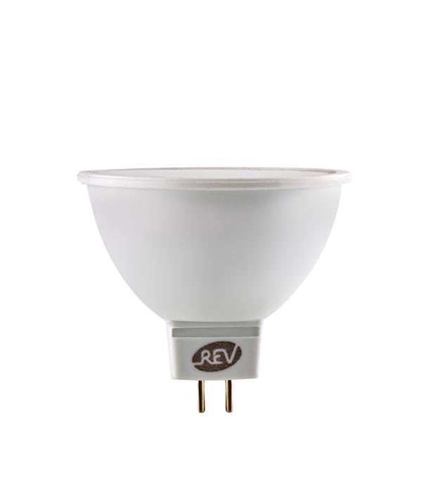 Лампа светодиодная REV 7 Вт GU5.3 рефлектор MR16 3000 К теплый свет 12 В фото