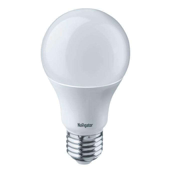 Лампа светодиодная Navigator 10 Вт E27 груша A60 4000 К дневной свет 230 В диммируемая фото