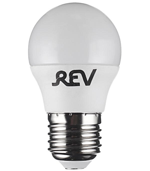 Лампа светодиодная REV 5 Вт Е27 шар G45 4000 К дневной свет 230 В фото