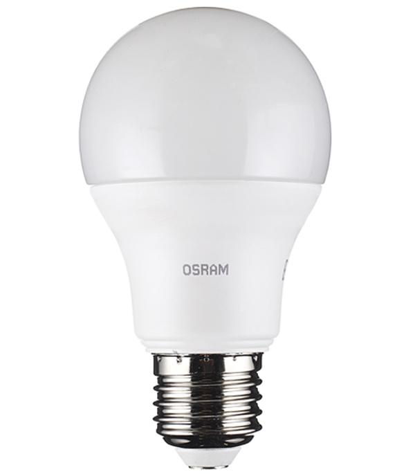 Лампа светодиодная Osram 10,5 Вт Е27 груша A60 4000 К дневной свет 230 В фото