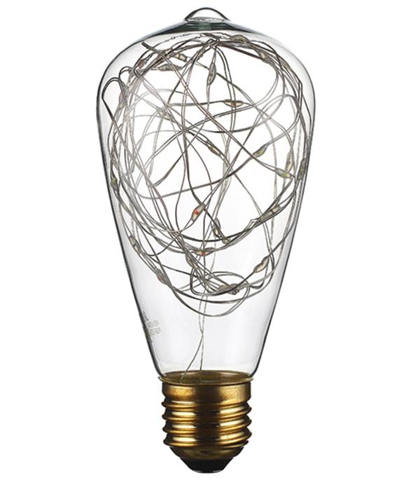 Лампа светодиодная REV VINTAGE 2 Вт Е27 колба ST64 2700 К теплый свет 230 В декоративная RGB фото