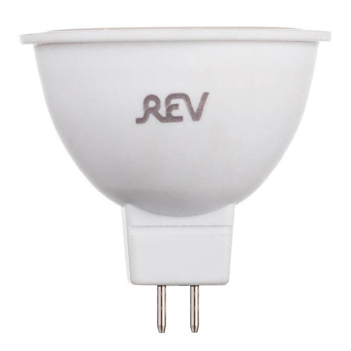 Лампа светодиодная REV 5 Вт GU5.3 рефлектор MR16 3000 К теплый свет 12 В фото