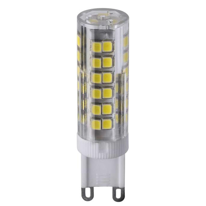 Лампа светодиодная Navigator 6 Вт G9 3000 К капсула теплый свет 230 В фото