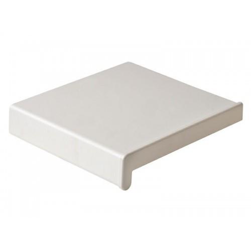 Подоконник ПВХ Мастерпласт белый 200х6000 мм фото
