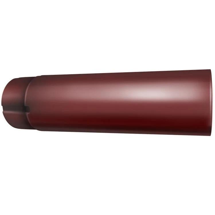 Grand Line RR 29 (красная) 125/90 мм, 3 м, Труба водосточная оцинкованная фото