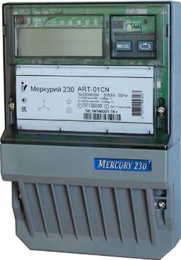 Счетчик электроэнергии трехфазный многотарифный Инкотекс Меркурий 230 АRT-03 СN фото