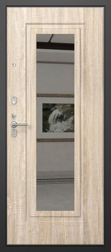 Стальная дверь ДС-2 Панель Нарцисс Л 02 фото
