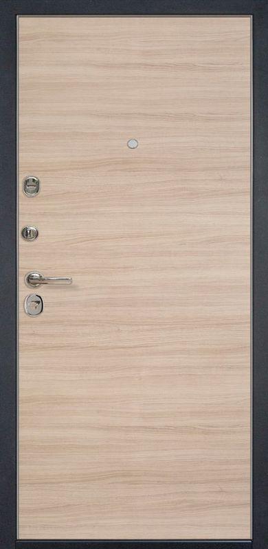 Входная металлическая дверь HD6/1Z Капучино Кроскут 860х2050 фото