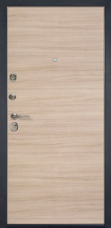 Входная металлическая дверь HD6/1Z Капучино Кроскут 960х2050 фото