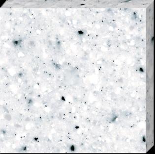 Подоконник из искусственного камня Tristone Romantic F-203 Black Ice 3680х760х12 мм фото