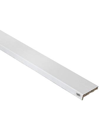 Подоконник пластиковый Стандарт 200х2000х20 мм белый фото