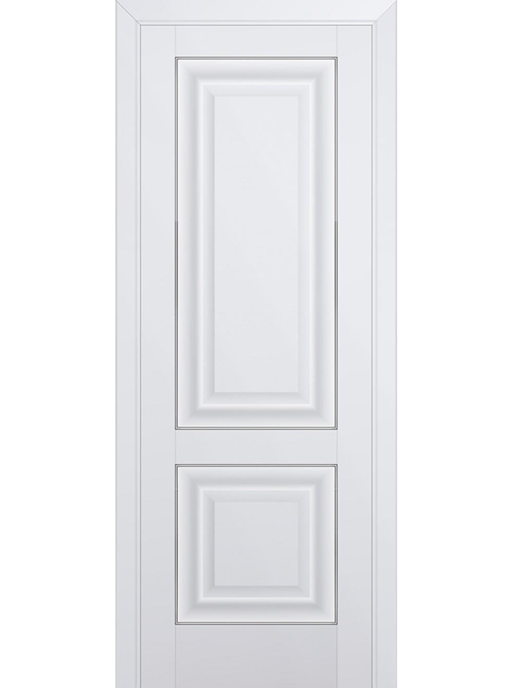 Комплект раздвижной двери Profildoors 27U (Аляска) 2000х900х36 мм (коробка, наличники, добор) фото
