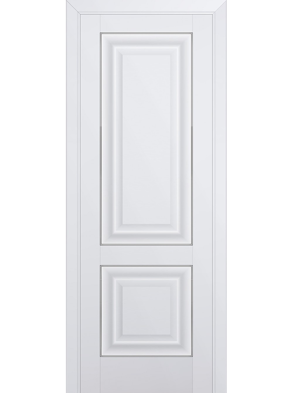 Комплект распашной двери Profildoors 27U (Аляска) 2000х600-800х36 мм (коробка, наличники, добор) фото