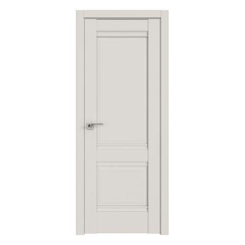 Комплект распашной двери Profildoors 1U (Дарк Вайт) 2000х600-800х36 мм (коробка, наличники, добор) фото