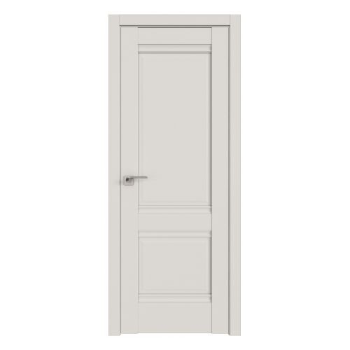 Комплект раздвижной двери Profildoors 1U (Дарк Вайт) 2000х600-800х36 мм (коробка, наличники, добор) фото