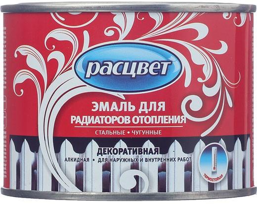 Расцвет Empils 0.5 кг, Эмаль алкидная термостойкая Для радиаторов (белая) фото