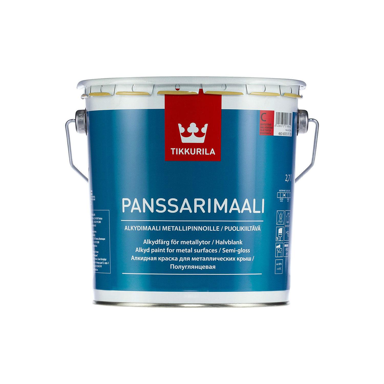Tikkurila Panssarimaali А 9 л, Эмаль фото