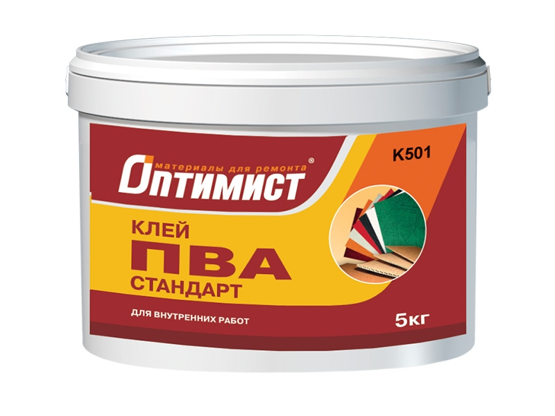 Оптимист Стандарт, 10 кг, Клей ПВА