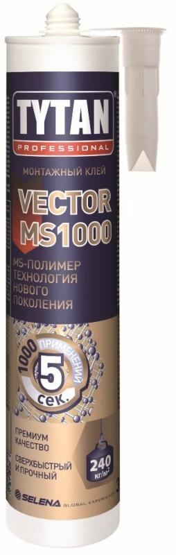 Tytan Vector MS 1000 310 мл Жидкие гвозди универсальные.