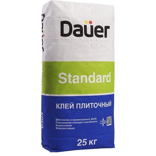 Dauer Standard, 25 кг, Клей для плитки