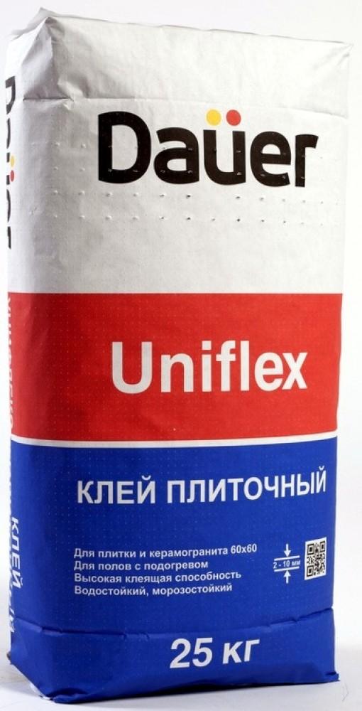 Dauer Uniflex, 25 кг, Клей для плитки