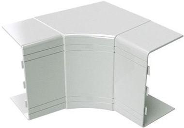 ДКС NIAV 25х30 мм, Угол для кабель-канала внутренний изменяемый (белый) фото