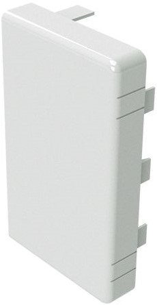 ДКС LAN 100х60 мм, Заглушка для кабель-канала (белая) фото